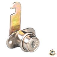 Ebco Cam Lock - Threaded (16MM/25MM/30MM) Nickel Plated MCL2-16