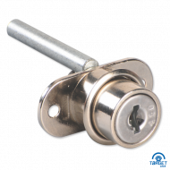 Ebco Pedestal Lock with Metal Keys Nickel Plated E-MPT2-20 M