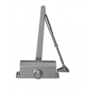Ebco Door Closer with Hold Open Silver DC 101