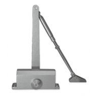 Ebco Door Closer with Hold Open Silver DC 201