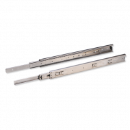 Ebco Sleek Telescopic Drawer Slide - Soft Close 400mm Stainless Steel 304 STDS 40-45SS-SC  /2 Pcs.