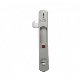 Ebco Sliding Window Lock 1925 (Keys) White P-SWL-1K