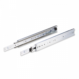 Ebco Steel Furniture Drawer Slide 450mm White Zinc Plated SFDS 45 35  /2 Pcs.