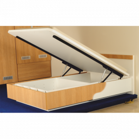 Ebco Pro-lift Bed Fittings - Arms (w/o Gas Lifts) Extended White PLBF-E