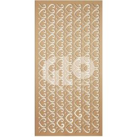 Glo MDF Grill Board 15mm Interior 8 x 4 ft Plain 9009