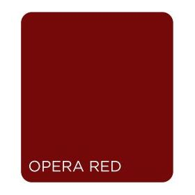 Saint Gobain Lounge Elite Hues 8mm Lacquered Glass Opera Red - 10 x 7 ft