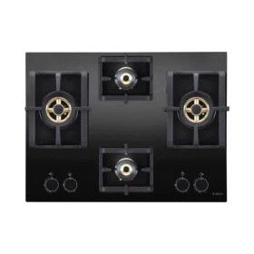 Elica PRO FB MFC 4B 70 DX FFD Black Glass Built-in Hob