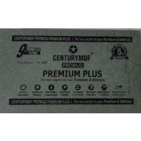 Century Premium Plus HDF Board 16.75MM 8 x 4 ft Plain